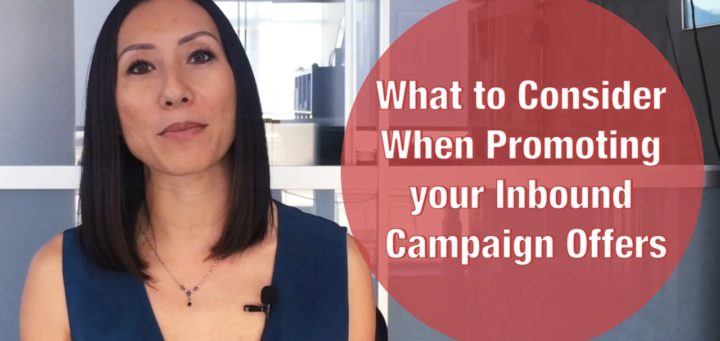 Promoting Your Inbound Campaign Offers Video